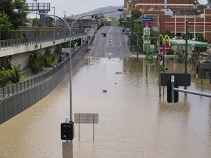 Great Brisbane flood of 2011. Contact erik@erikveland.com for licensing.