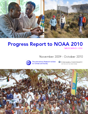 Progress Report to NOAA 2010