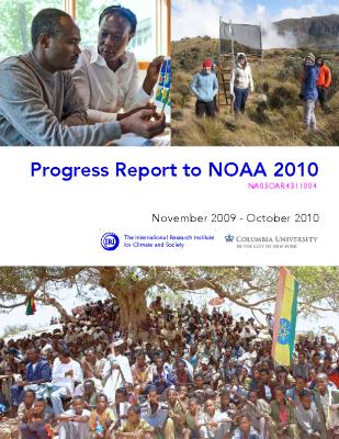 Progress Report to NOAA 2010