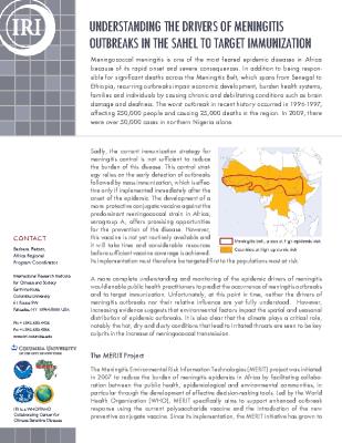 Meningitis in the Sahel