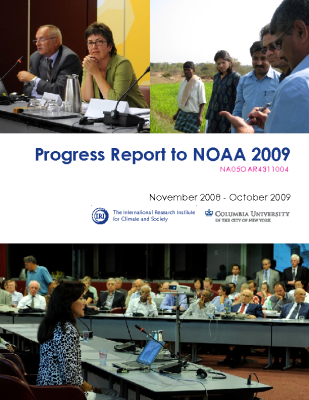 Progress Report to NOAA 2009