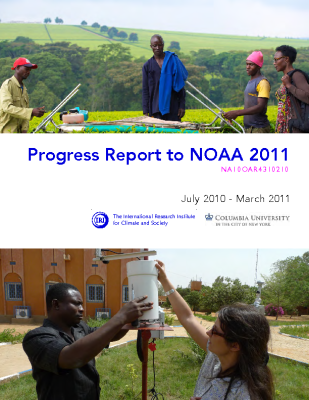 Progress Report to NOAA 2011