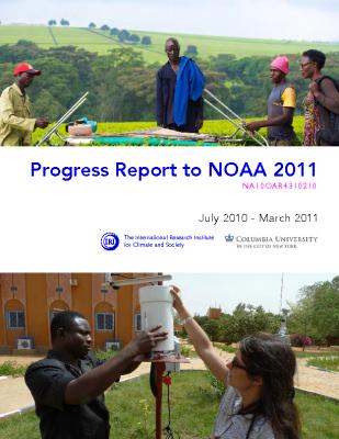 Progress Report to NOAA 2011