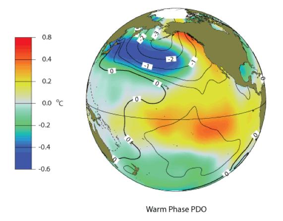 PDO warm phase