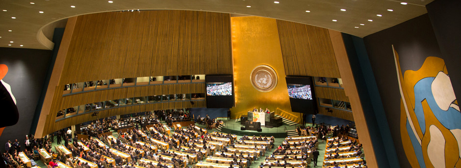 UN Photo of General Assembly during Climate Summit 2014