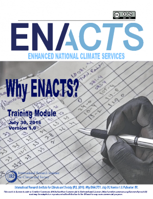WHY ENACTS?