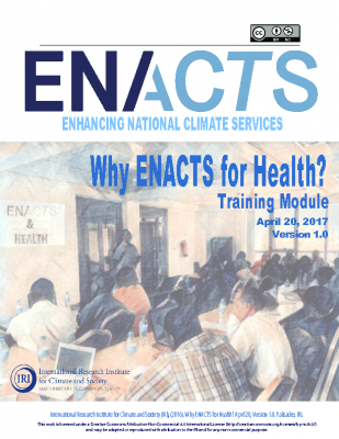 Why ENACTS for Health?