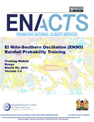 ENSO Rainfall Kenya