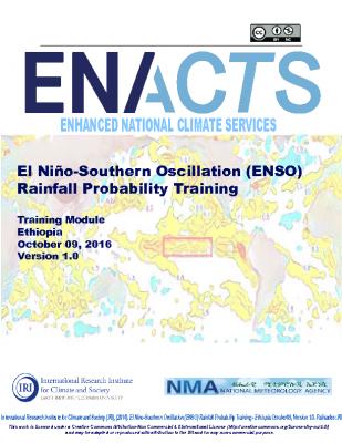 ENSO Rainfall Ethiopia