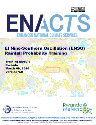 ENSO Rainfall Rwanda