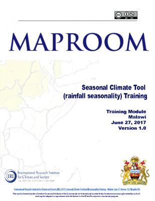 Seasonality Malawi