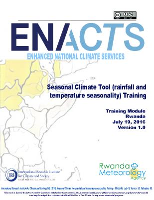 Seasonality Rwanda