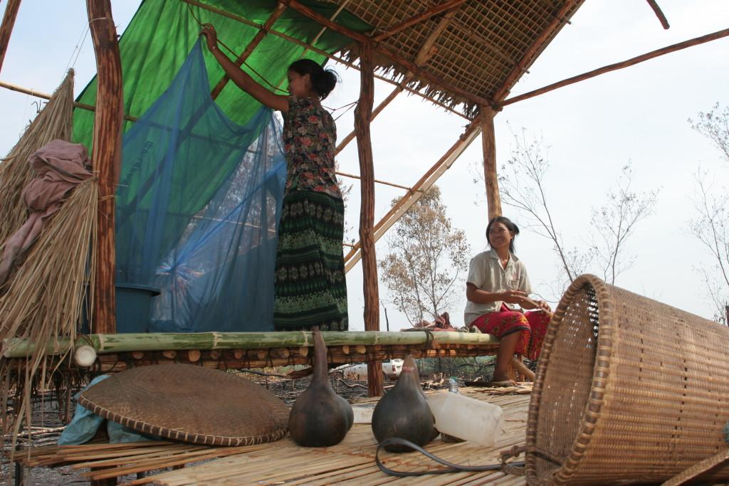 Fighting malaria in Cambodia.