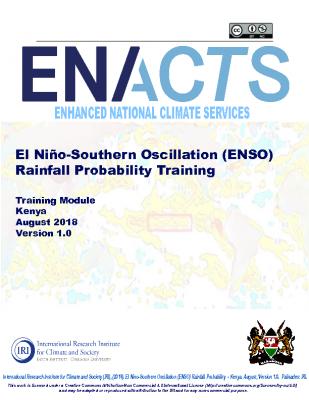 ENSO Rainfall Kenya 2018