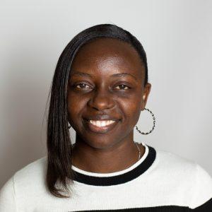 A staff photo of Gloriose Nsengiyumva