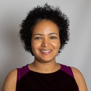 Staff photo of Rahel Diro, a senior staff associate at the International Research Institute for Climate and Society (IRI).